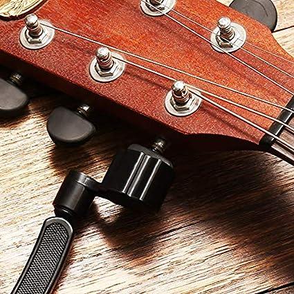 3 en 1 Enrollador de Cuerdas de Guitarra Guitarra Cortador de Cuerdas Pin Puller Remover Herramientas de la Guitarra para Guitarras Eléctricas y acústicos, ...