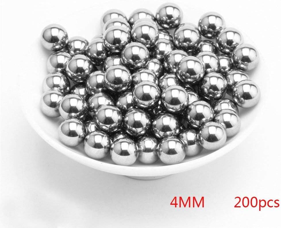 Gaoominy 100 Pcs 3mm Diameter Steel Bike Bicycle Bearing Ball Spares /& 60 Pcs 4mm Dia Bicycle Steel Bearing Ball Replacement