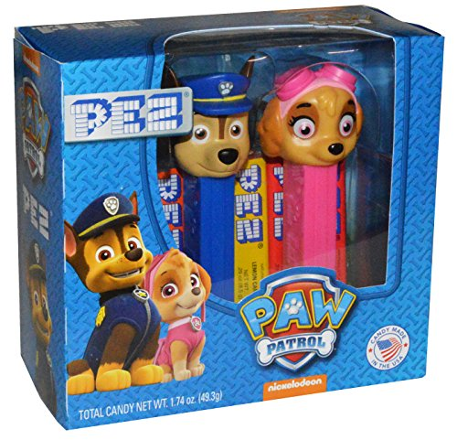 Pez Candy Packs (Pez Nickelodeon Paw Patrol Twin Pack Gift Set - Includes 6 Individually Wrapped Rolls of Pez Candy (1 Pack))