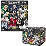 2017 Panini NFL Football Sticker Collection Master Kit (50 pack box & 1 album)