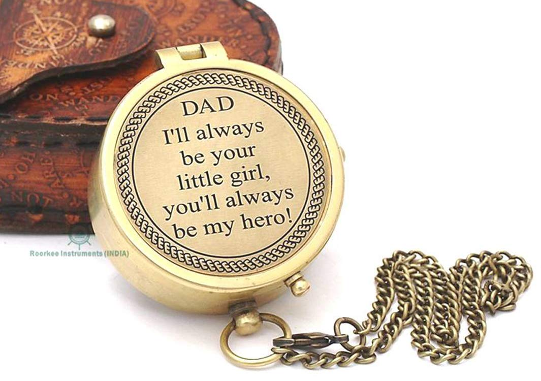 Amazon Unique Gift For Father Best Dad Dads Birthday Gifts Compass With Case Health Personal Care