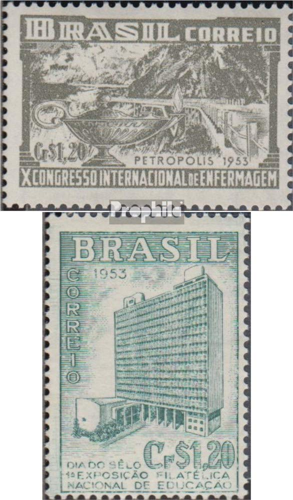 Prophila Collection Brasil 803,805 (Completa.edición.) 1953 ...