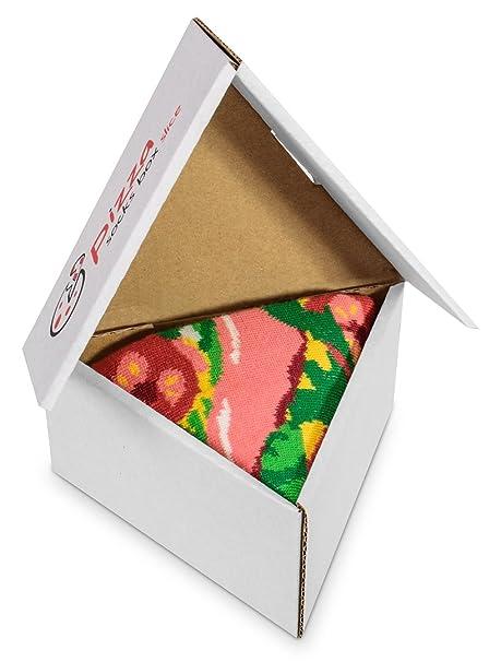 Pizza Socks Box 1 par Italiana Unos calcetines únicos, extraordinariamente originales, fabricados en la