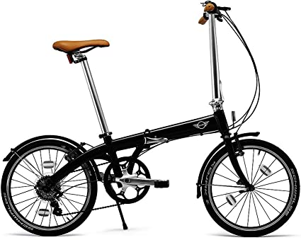 BMW Mini - Bicicleta plegable, color negro: Amazon.es: Coche y moto