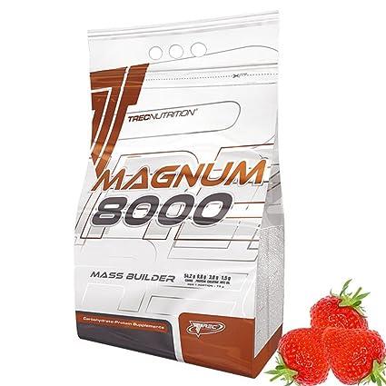 TREC NUTRITION MAGNUM 8000, proteínas, hidratos de carbono Mass Gainer, Aminoácidos, Vitaminas