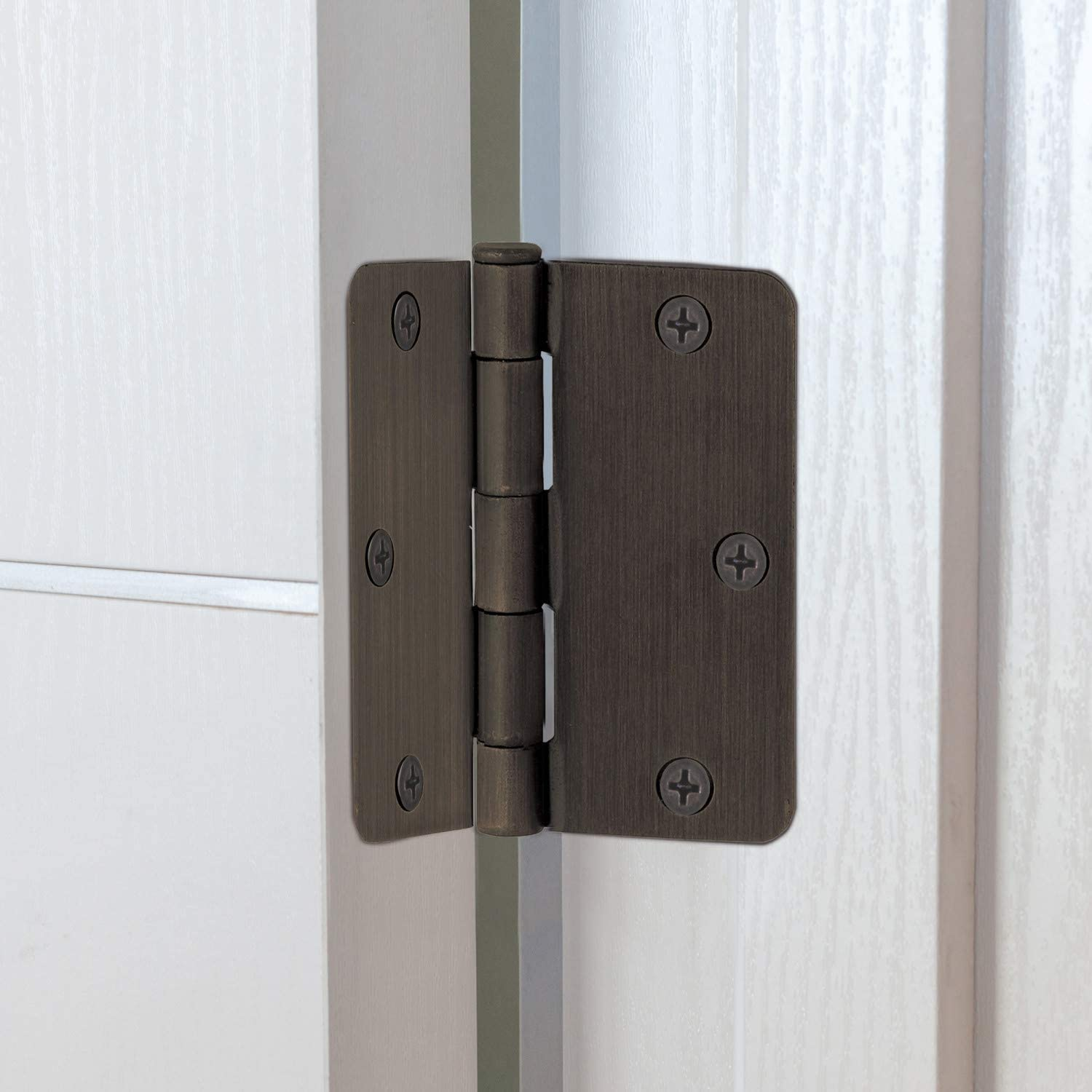 Oil Rubbed Bronze Design House 181370 3-Pack Hinge 3.5
