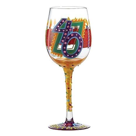 Amazon.com: Lolita – Copa de vino, 40º cumpleaños: Kitchen ...