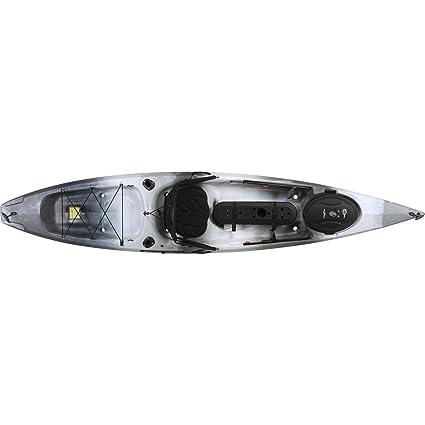 Amazon Com Ocean Kayak Tetra 12 Angler Kayak Urban Camo
