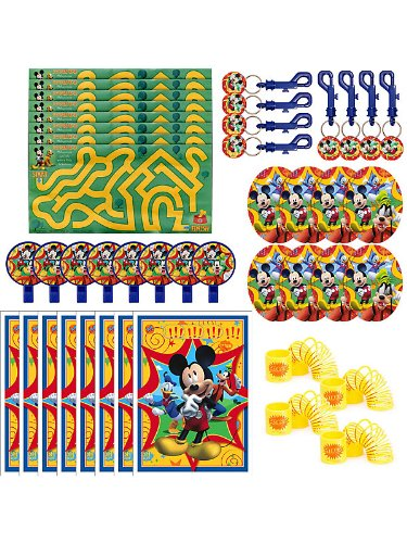 Mickey Mouse 48 piece Party Favor Pack
