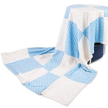 Amazon.com: boritar manta de bebé Splice, Azul: Baby