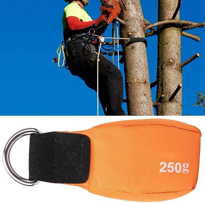 Alomejor Bolsa De Lanzamiento De árbol De Escalada Bolsa De Peso De Lanzamiento para Arbolista Árbol De Roca Cuerda