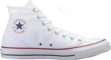 Converse Unisex Chuck Taylor Hi Baloncesto Zapato, Blanco