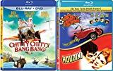 The 60's Magical Car Adventure Set - Those Daring Young Men in Their Jaunty Jalopies & Chitty Chitty Bang Bang 2-Blu-ray Set (with Bonus Houndini starring Tony Curtis)