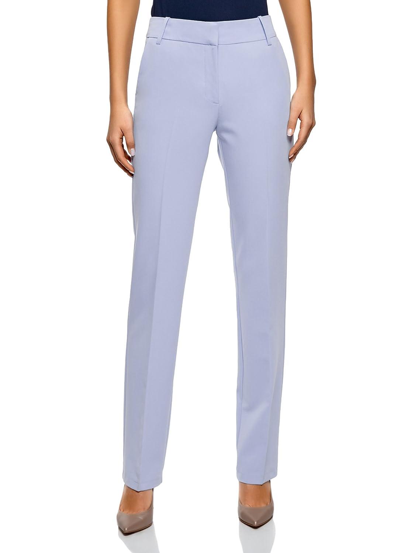 TALLA ES 38 / S. oodji Collection Mujer Pantalones Clásicos Rectos