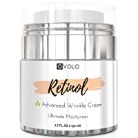 OVOLO Moisturizer Cream with Retinol for Face and Eye Area - BEST NEW 2019 Skin...