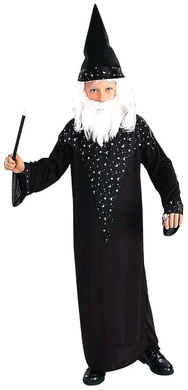 Amazon.com: Disfraz de mago para niño, talla ...