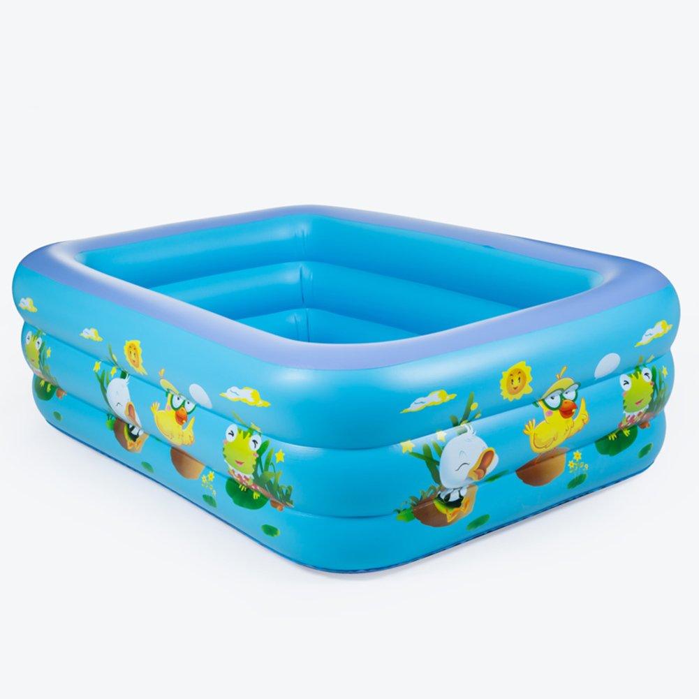 Extra große Baby- und Kinder Planschbecken/Familie nach Hause quadratische Baby Planschbecken/Großen aufblasbaren Pool für Erwachsene-C