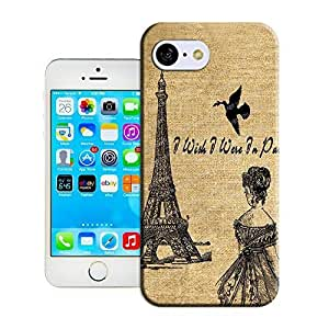 hecase Romantic Eiffel Tower Picture Of Tpu New Style Scratch-Proof Covers For Iphone 5c