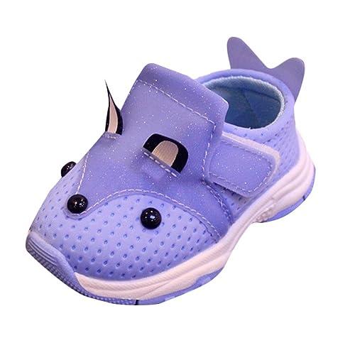Familizo Zapatillas Bebé Niños niñas Malla Zapatillas Deportivas Zapatillas niña Animales para Correr Zapatos Bebe Niña Suela Blanda Antideslizante: ...
