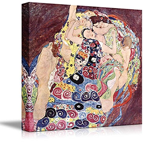 The Virgins by Gustav Klimt Print Famous Painting Reproduction