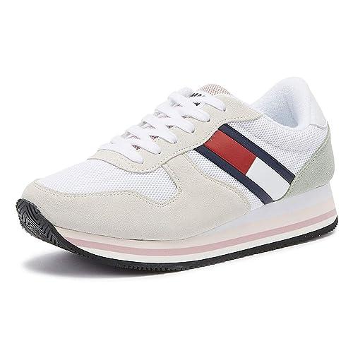 Tommy Hilfiger - Zapatillas para Mujer 901: Amazon.es: Zapatos y complementos
