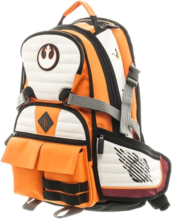 Bioworld Star Wars Rebel Squadron Pilot Laptop Backpack