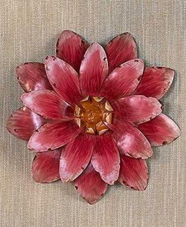 Amazon.com: IMAX 64195 Isabella Medium Ceramic Wall Decor Flower ...