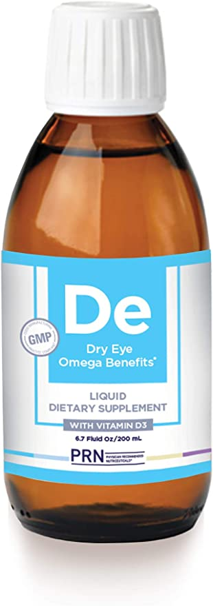 PRN Dry Eye Omega (Liquid Formula) - Support for Eye Dryness - 2240mg of EPA & DHA in The Triglyceride Form | 2 Month Supply
