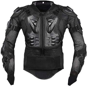 Motocicleta Chaqueta Protectora, Profesional Hombre Armadura De Cuerpo Completo Protector De Protección Equipo Motocross ATV Racing Spine Back ...