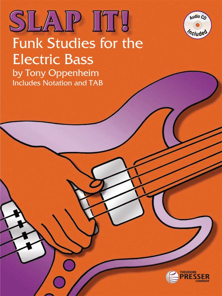 Slap It: Funk Studies for the Electric Bass - MP3 Audio