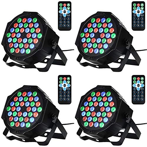 Litake 36LED Par Lights for Stage Lighting
