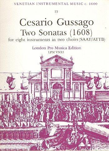 2 Sonatas: For 8 Instruments Semillas/attb: Amazon.es: Instrumentos musicales