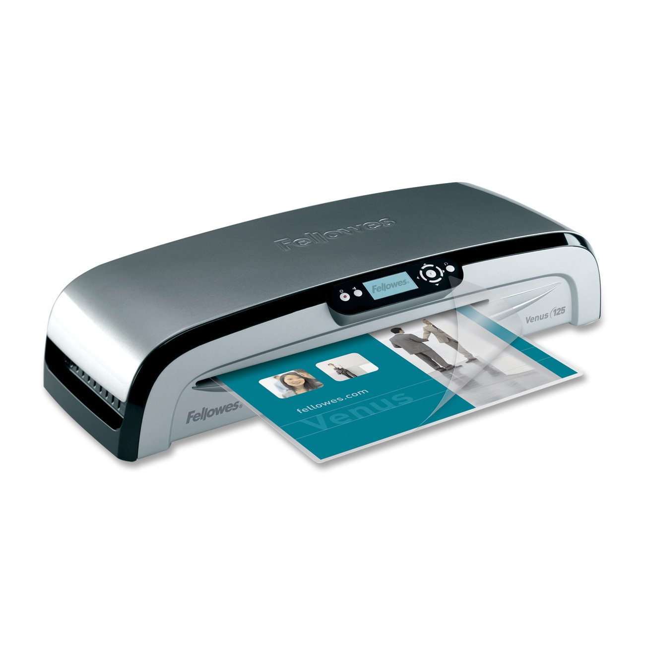 Fellowes Venus 125 Laminator, 12.5 Inch with 10 Pouches (5215901)