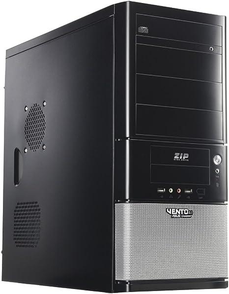 Asus TA-861 - Caja ordenador de sobremesa, plata, negro: Amazon.es: Informática