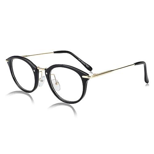 Amazon.com: ROYAL GIRL Small Round Circle Glasses Women Metal Frame ...