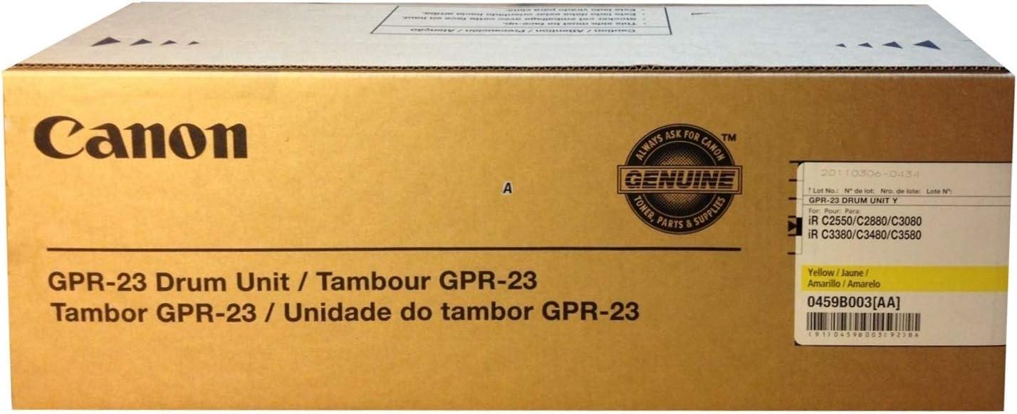 CANON 0459B003AA CANON GPR-23 YLW DRUM IRC2550//2880//3380//3080