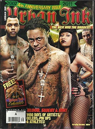 Black Men's Urban Ink Magazine #17 The Best and the Baddest 4th Anniversary Issue Lil Wayne, The Game, Gucci Mane, Nicki Minaj, Birdman and More