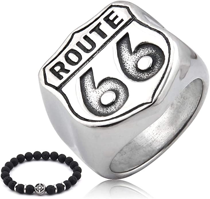 Route 66 Stacking Ring