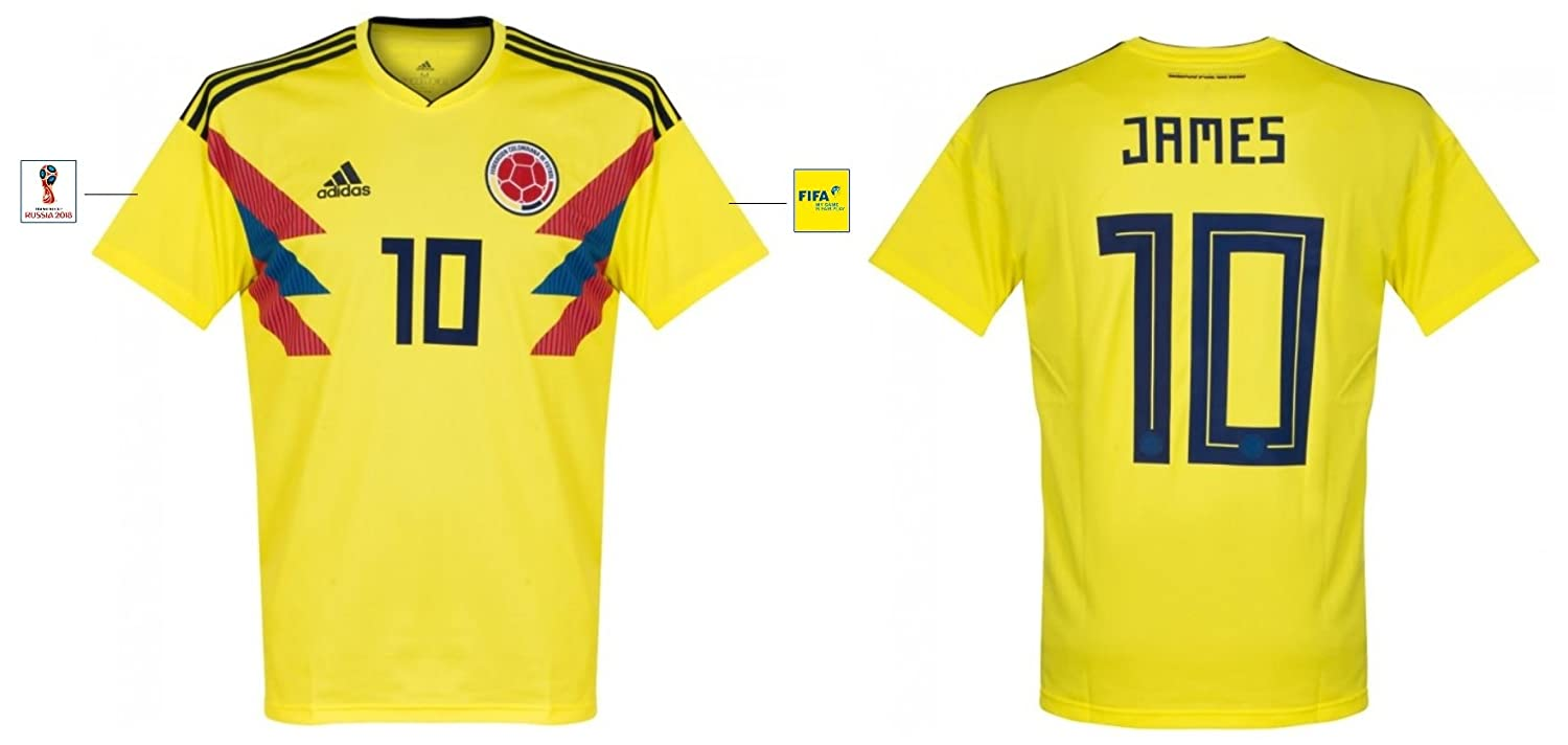 Trikot Herren Kolumbien WM 2018 Home – James 10