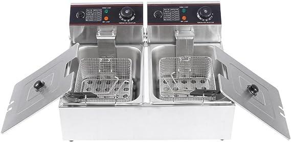 Freidora Profesional para cocinar en casa, control de temperatura ...