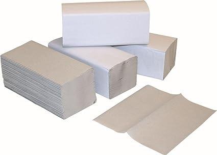 Toallas de papel Toallas Plegables Natural ZZ veces 25 X 23 Cm 1 capa 5000 hojas