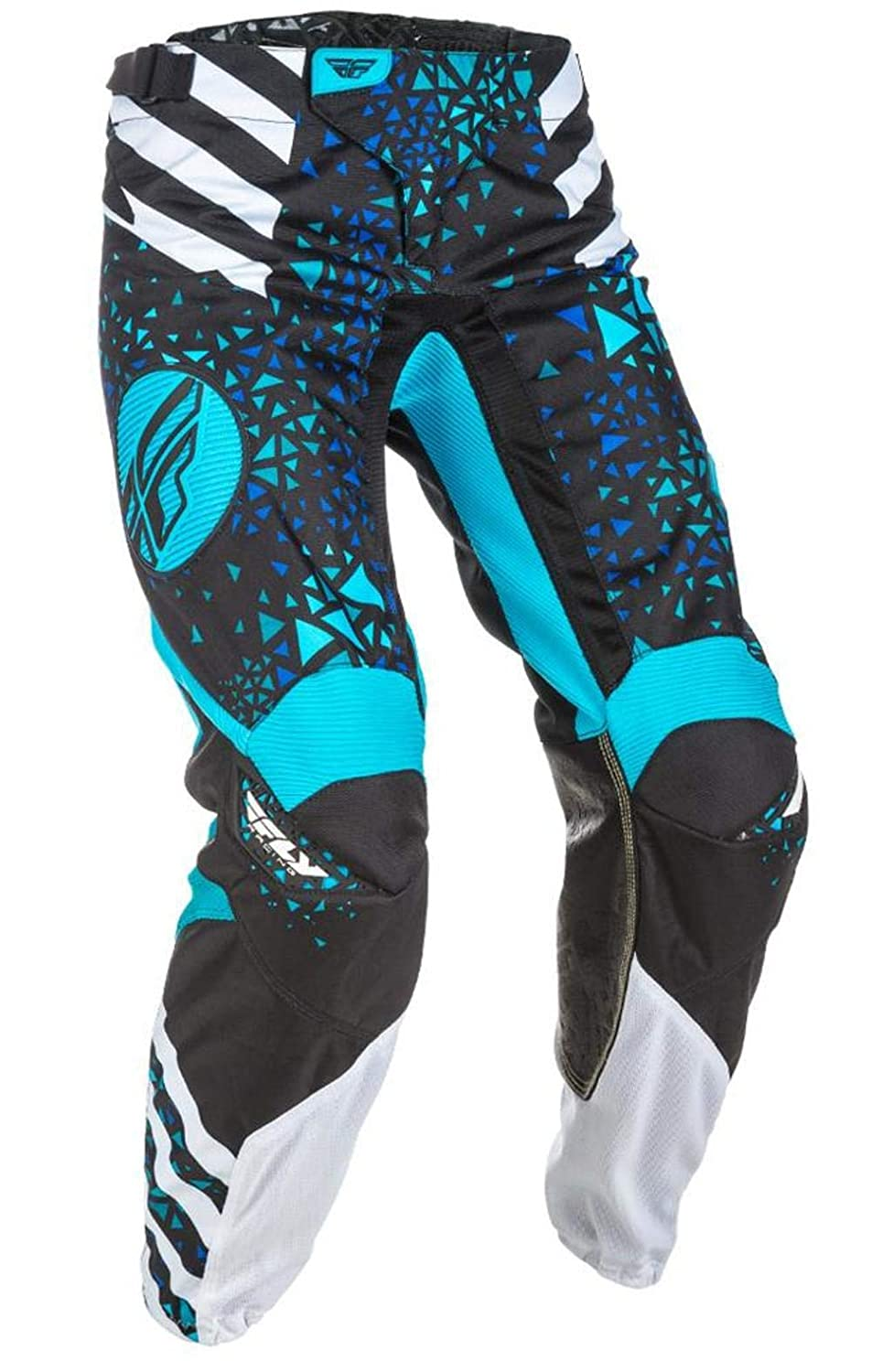 ,1 Pack 371-63104 Fly Racing Womens Kinetic Race Pants Blue//Black, Size 0//2