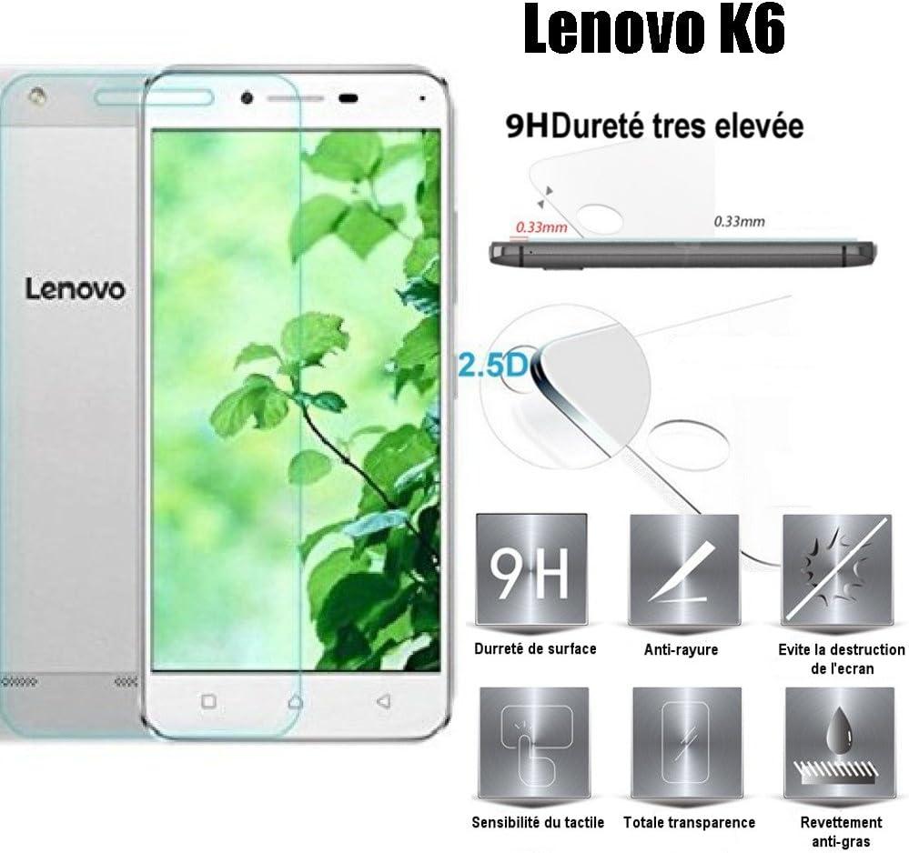 SCOTT-FRANCE Funda Lenovo K6, Funda Funda Carcasa de protección Ultra Fina Silicona TPU Gel para Lenovo K6: Amazon.es: Electrónica