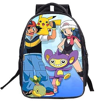 Mochila Unisex Pokemon Mochila de Estudiante Mochila Escolar de Moda Reducción de la Carga Mochila de Ocio para niños: Amazon.es: Equipaje