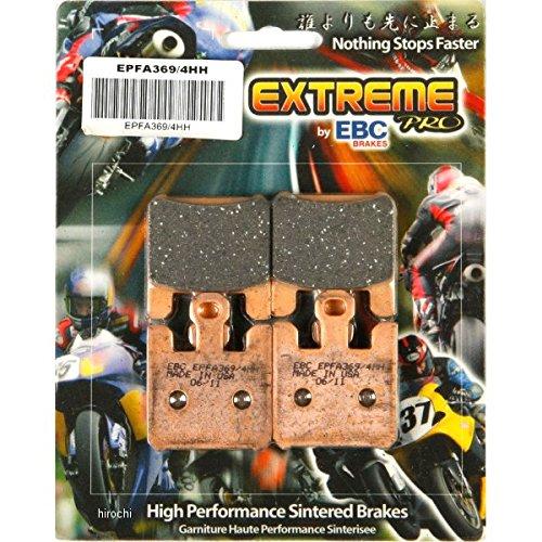 イービーシー EBC ブレーキパッド フロント 03年-04年 GSX-R1000、ZX-6RR EX-Performance シンタード 610080 EPFA369/4HH   B01MTMQNGL