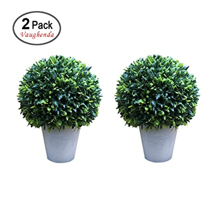 Vaughenda 2 Pack Artificial Plants Trees Plastic Fake Plants Simulation  Bonsai Artifcial Tree Home Decor Indoor