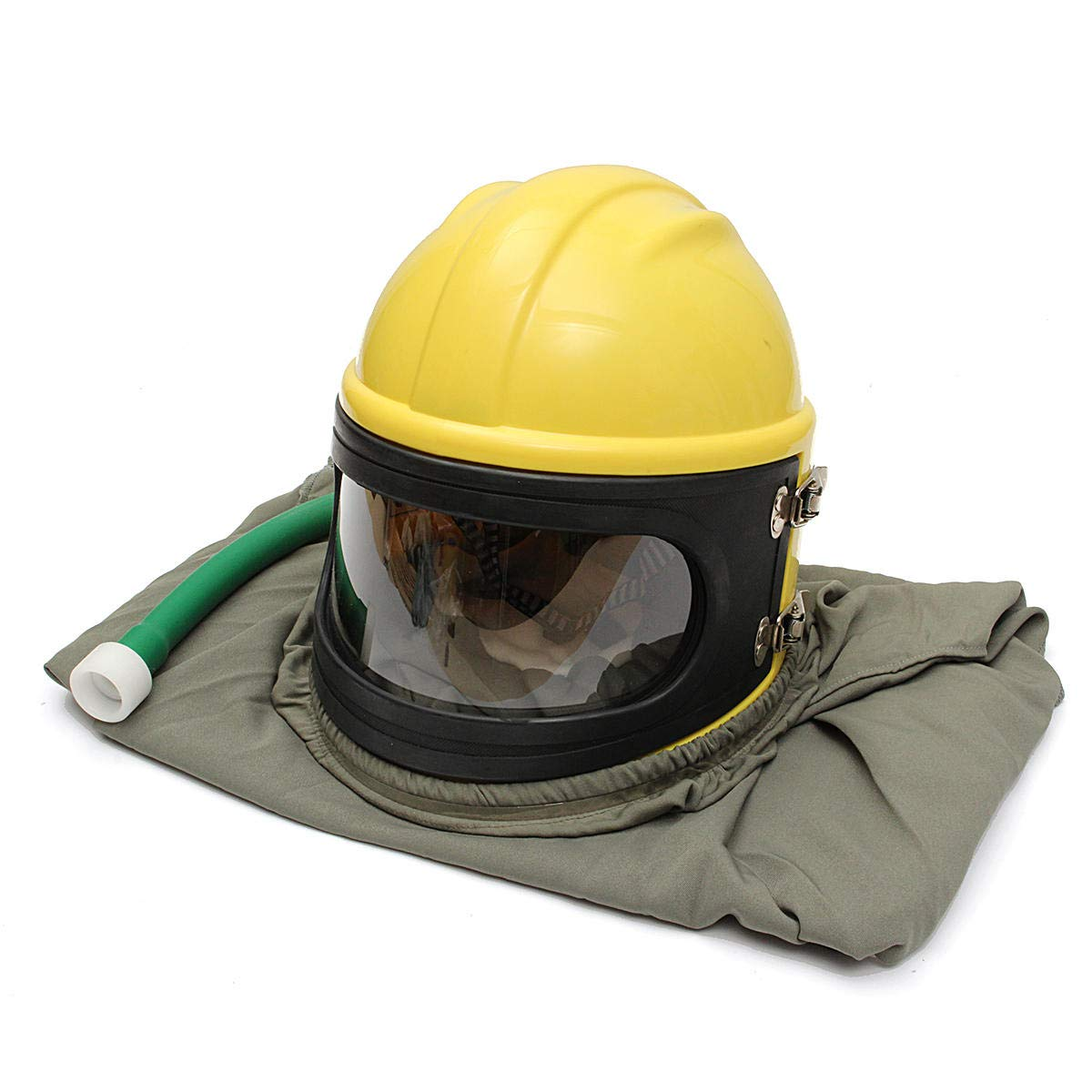 AIR FED Safety Sandblast Helmet Sand Blast Hood Protector for Sandblasting