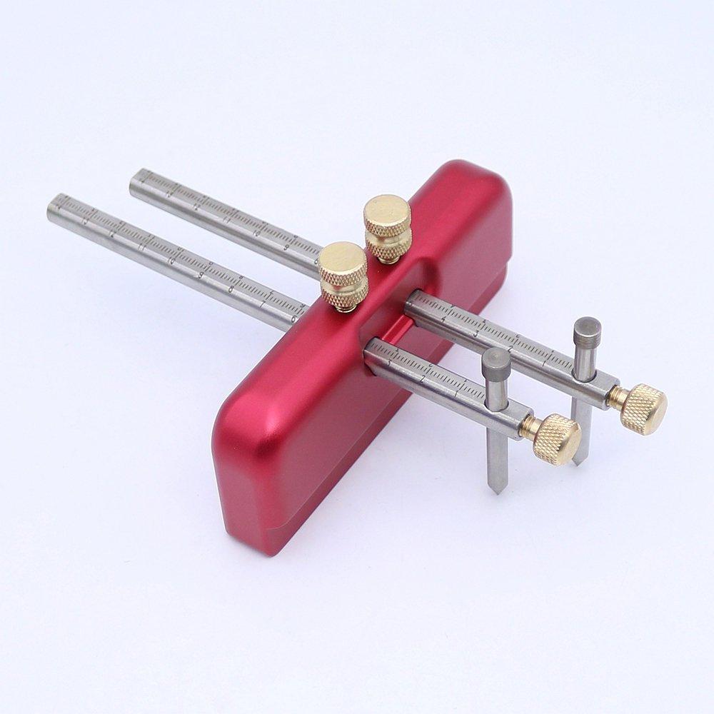 Adjustable Scribing Tool Wood Scribe Mortise Gauge DIY Woodworking Scribe Gauge