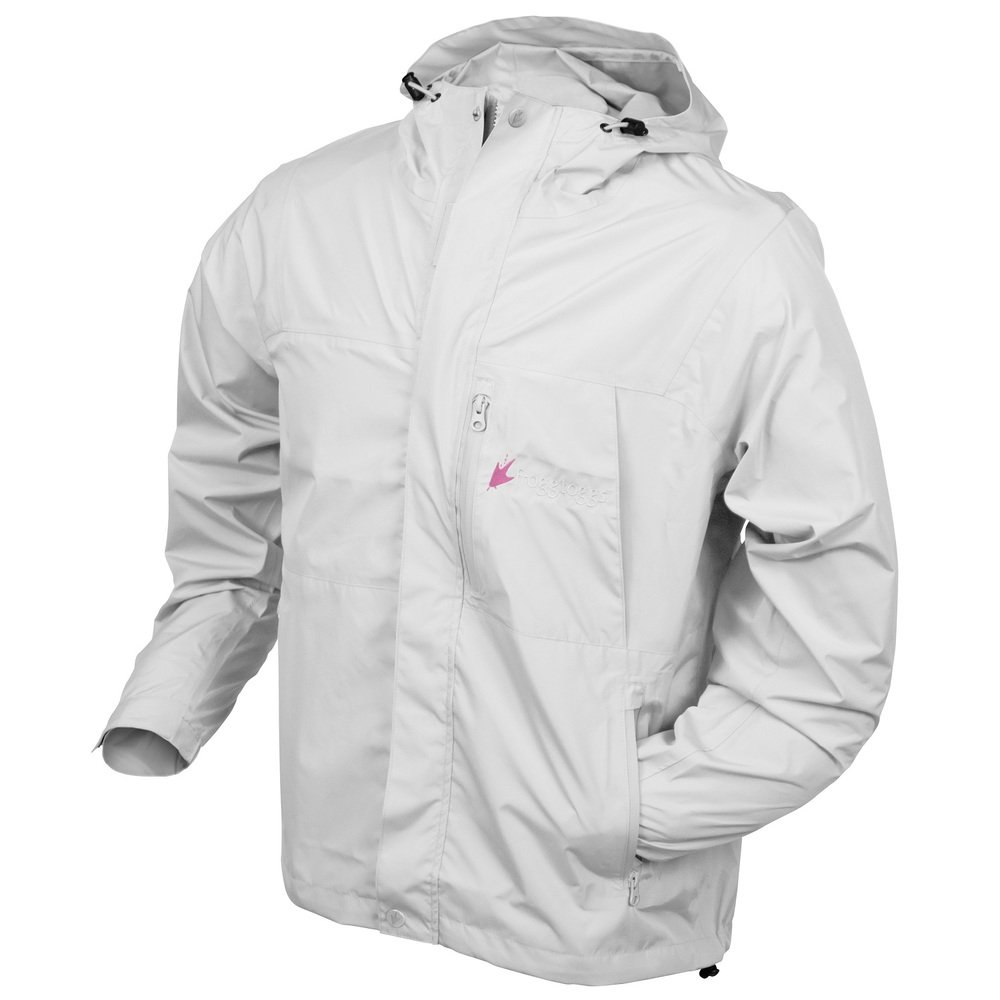 Frogg Toggs Women'S Java Toadz 2.5 Jacket, White, Large