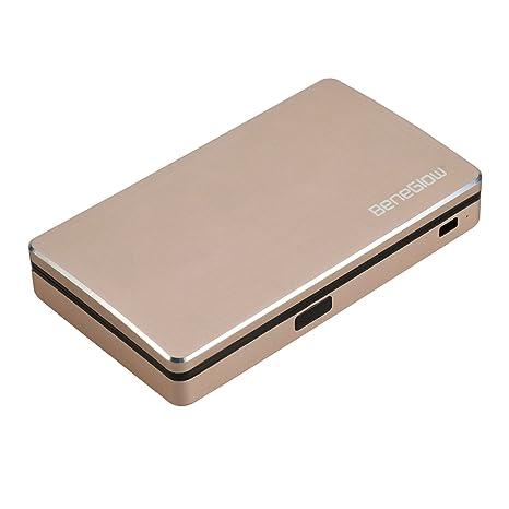 Cartera de tarjetas, Greshare Bluetooth bidireccional bidireccional RFID seguro Carpeta de seguimiento de aluminio con
